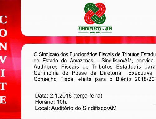 Convite Posse da nova Diretoria – Biênio 2018-2019