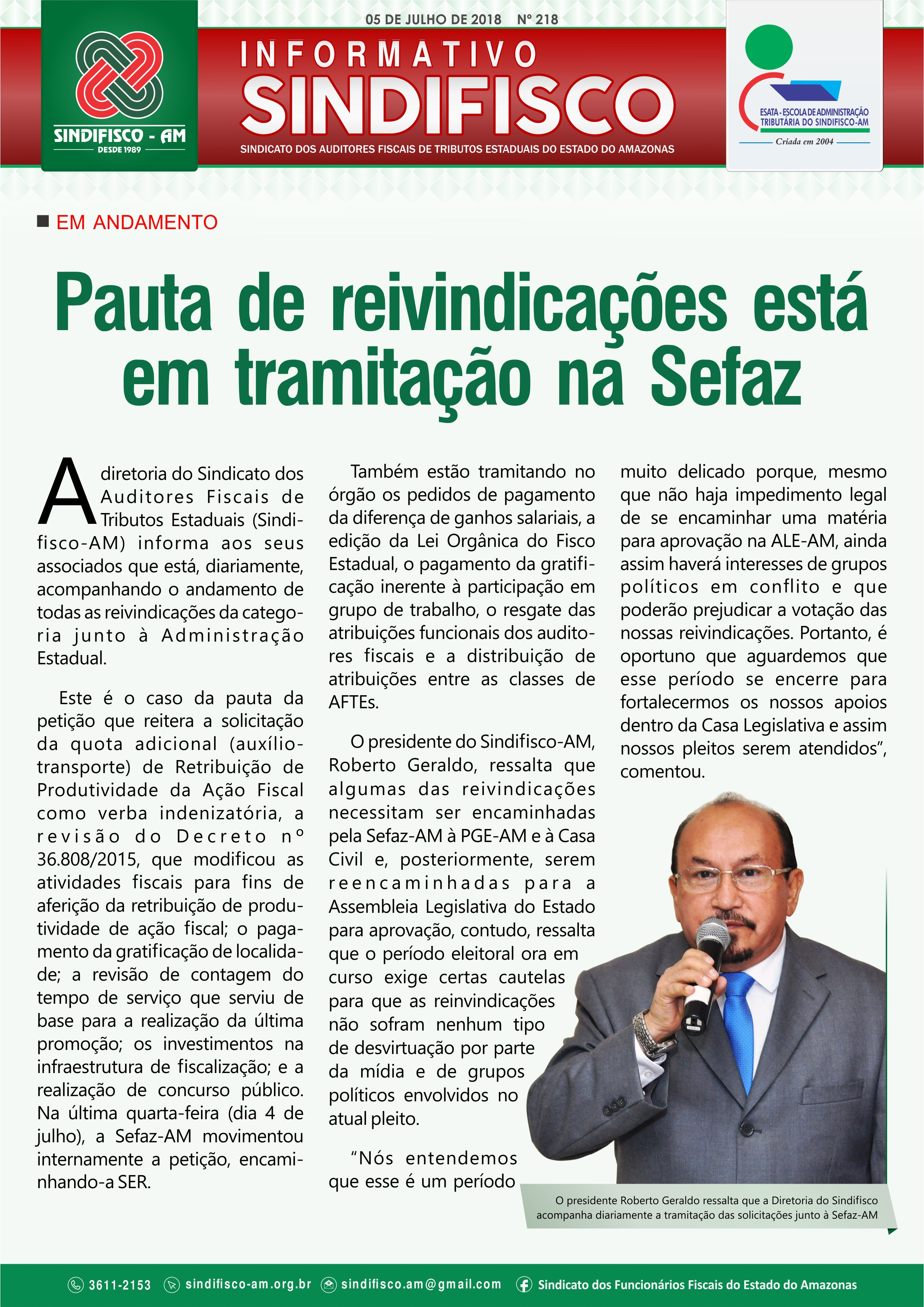 Boletim Informativo 218